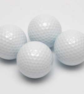 Floating Golf Balls