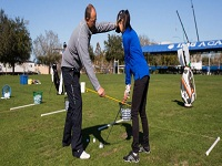 Learn Golf Skills with Trainers