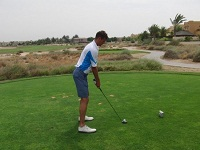 Hand and Knees in Golf