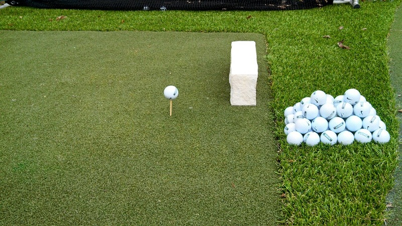 Practice Golf in the Backyard